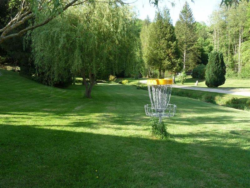 le parcours disc-golf