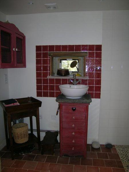 gite de france allier salle de bain
