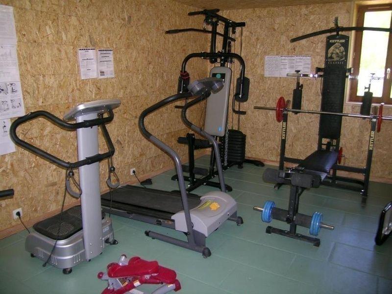 Chambres d'hotes Moulin Berthon en AUVERGNE, salle de sport