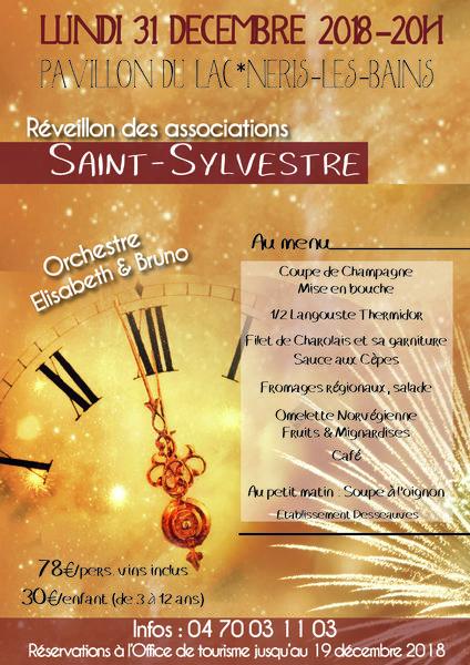 reveillon saint Sylvestre
